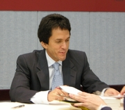 Author photo. By Vincent Wagner (Shack) - Own work that took in Mitch Albom's lecture in Taipei., CC BY-SA 3.0, <a href=&quot;https://commons.wikimedia.org/w/index.php?curid=11368141&quot; rel=&quot;nofollow&quot; target=&quot;_top&quot;>https://commons.wikimedia.org/w/index.php?curid=11368141</a>