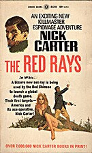 The Red Rays by Nick Carter
