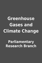 Greenhouse Gases and Climate Change by…
