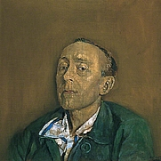 Author photo. by Graham Sutherland, found at <a href=&quot;http://www.bbc.co.uk/arts/yourpaintings/paintings/the-honourable-edward-sackville-west-19011965-34079&quot; rel=&quot;nofollow&quot; target=&quot;_top&quot;>bbc.co.uk</a>.