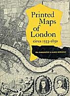 Printed Maps of London, circa 1553-1850.…