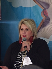 Author photo. Anna banks reading at the 2014 Gaithersburg Book Festival By Slowking - Own work, GFDL 1.2, <a href=&quot;//commons.wikimedia.org/w/index.php?curid=32831563&quot; rel=&quot;nofollow&quot; target=&quot;_top&quot;>https://commons.wikimedia.org/w/index.php?curid=32831563</a>