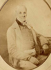 Author photo. George William Featherstonhaugh, 1856. Wikimedia Commons.
