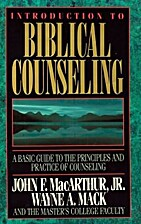 Introduction To Biblical Counseling by John…