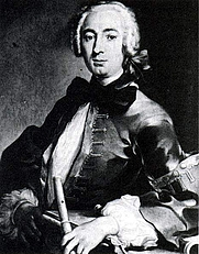 Author photo. Johann Joachim Quantz (1697-1773)