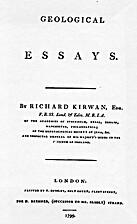 Geological Essays by Richard Kirwan