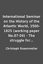 International Seminar on the History of the…