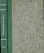 Effective evangelism by George E. Sweazey