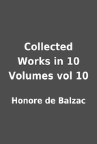Collected Works in 10 Volumes vol 10 by…