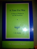 A time for war : a study of warfare in the…