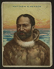 Author photo. Cigarette card (courtesy of the <a href=&quot;http://digitalgallery.nypl.org/nypldigital/id?1205414&quot;>NYPL Digital Gallery</a>; image use requires permission from the New York Public Library)