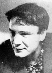Author photo. Vladimir Buskovsky in his 20s [credit: Wikimedia Commons user Voronov]