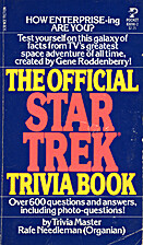 The Official Star Trek Trivia Book by Rafe…