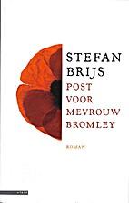 Post voor mevrouw Bromley roman by Stefan…
