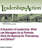 A Question of Leadership: What Can Managers…