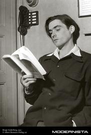 Author photo. Bengt Anderberg, 1947; Foto: Albert Bonniers Forlag AB