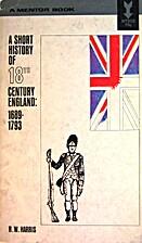 A Short History of 18th Century England:…
