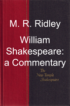 William Shakespeare : a commentary by M. R.…