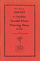 Orkney : a checklist of vascular plants,…