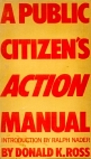 A public citizen's action manual by…