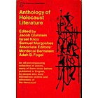 Anthology of Holocaust Literature by Jacob…