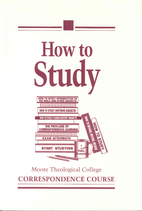 How to study by Peter Bolt