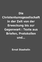 Die Christentumsgesellschaft in der Zeit von…