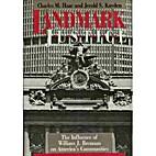 Landmark justice : the influence of William…