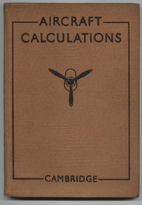 Aircraft Calculations by S. A. Walling
