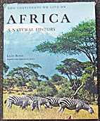 Africa, a natural history by Leslie Brown