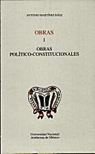 Obras politico-constitucionales (Nueva…