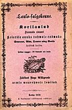 Laulo-salgokenne. Töine jaggo, 24 kewwade…