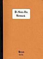 Panzergrenadier-Division Kurmark by R. M.…
