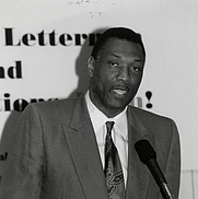 Author photo. Elvin Hayes. UH Photographs Collection.