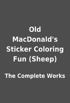 Old MacDonald's Sticker Coloring Fun (Sheep)…