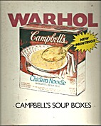 Warhol Campbell's Soup boxes by Andy Warhol