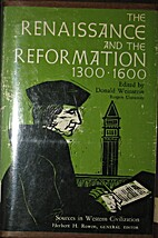 The Renaissance and the Reformation,…