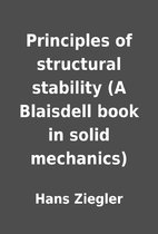 Principles of structural stability (A…