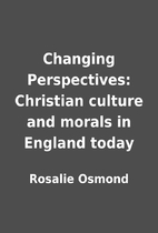 Changing Perspectives: Christian culture and…