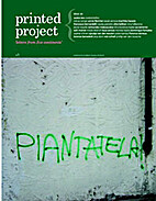 Printed Project. Issue 2. 'Letters From Five…