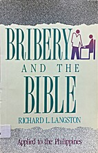 Bribery and the Bible by Richard L. Langston