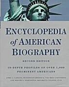 Encyclopedia of American biography by John…