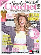 Simply Crochet Issue 20 by Debora Bradley
