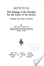 The message of the Disciples for the union…