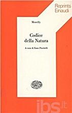 Codice della natura by Morelly