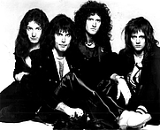Author photo. Queen / publicity shot 1976