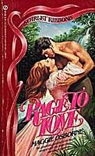 Rage to Love by Maggie Osborne