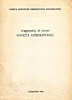 Fragmentoj el revuo Soveta Uzbekistano