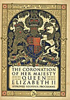 The Queen Elizabeth Coronation Souvenir by…