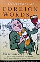 Dictionary of Foreign Words and Phrases by…